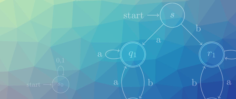 LaTeX Finite Automata and State Diagrams with Tikz